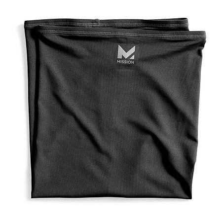 Mission Cooling Neck Gaiter Full, One Size , Black