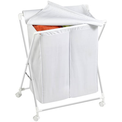 Honey-Can-Do® Folding Double Hamper/Sorter