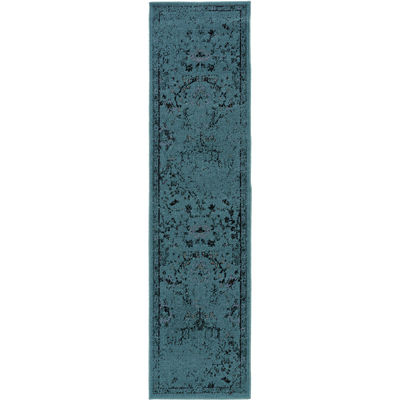 Covington Home Adriatic Sea Distressed Rectangular Rug