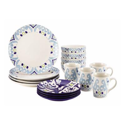 Rachael Ray® Ikat 16-pc. Dinnerware Set
