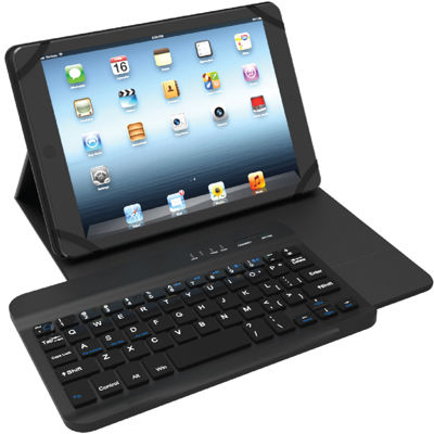 Tzumi Universal Bluetooth Portfolio Keyboard Case