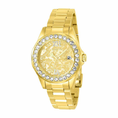 Invicta Womens Gold Tone Bracelet Watch-22870