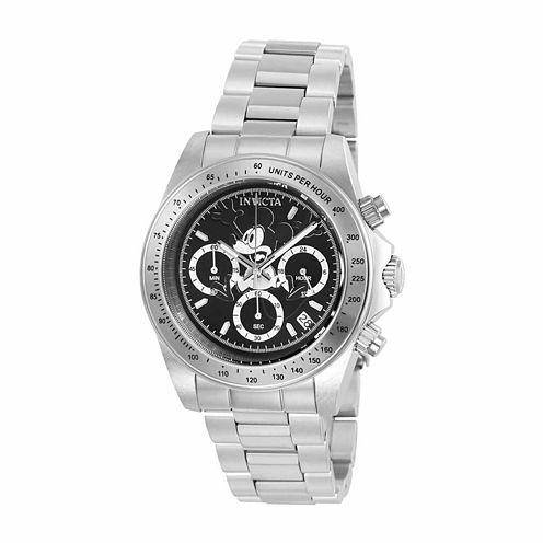 Invicta Mens Silver Tone Bracelet Watch-22864