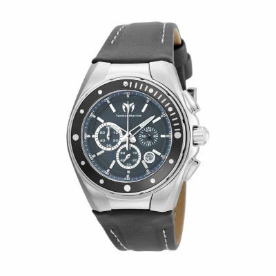 Techno Marine Womens Gray Strap Watch-Tm-215036