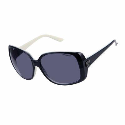 Liz Polarized Square UV Protection Sunglasses-Womens