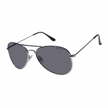 Liz Polarized Full Frame Aviator UV Protection Sunglasses-Womens