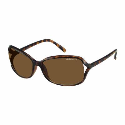 Liz Polarized Rectangular UV Protection Sunglasses-Womens