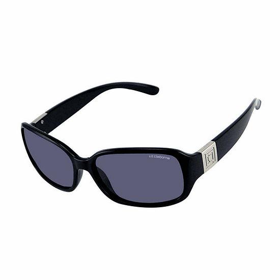 Liz Polarized Womens Rectangular Polarized Uv Protection Sunglasses
