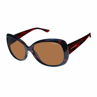 Liz Polarized Square UV Protection Sunglasses-Womens