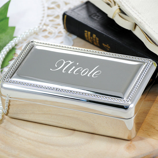 Cathy's Concepts Personalized Beaded Keepsake Box