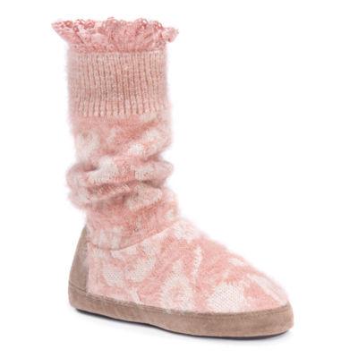 Muk Luks Vanessa Bootie Slippers