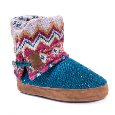 Muk Luks Patti Bootie Slippers