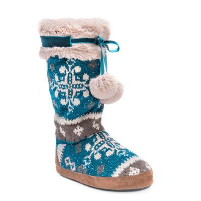 Muk Luks Chanelle Bootie Slippers