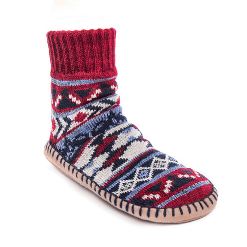 Muk Luks Short Slipper Socks