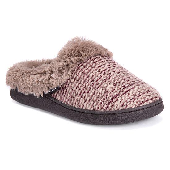 Muk Luks Womens Slip-On Slippers