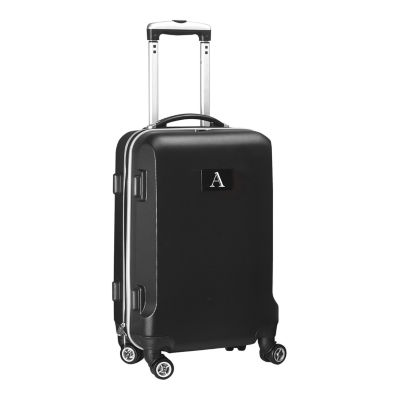 """Personalized Initial Name letter """"A"""" 20 inches Carry on Hardcase Spinner Luggage by Mojo"""