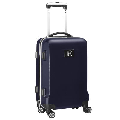 """Personalized Initial Name letter """"E"""" 20 inches Carry on Hardcase Spinner Luggage by Mojo"""""""