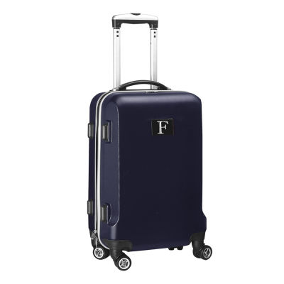 """Personalized Initial Name letter """"F"""" 20 inches Carry on Hardcase Spinner Luggage by Mojo"""""""