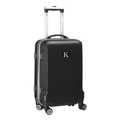 "Personalized Initial Name letter ""K"" 20 inches Carry on Hardcase Spinner Luggage by Mojo"
