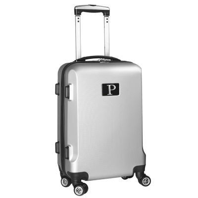 """Personalized Initial Name letter """"P"""" 20 inches Carry on Hardcase Spinner Luggage by Mojo"""
