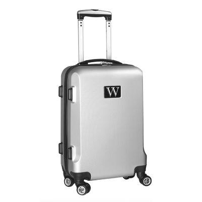 """Personalized Initial Name letter """"W"""" 20 inches Carry on Hardcase Spinner Luggage by Mojo"""""""