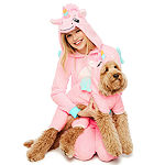 Pink Unicorn Long Sleeve One Piece Pajama