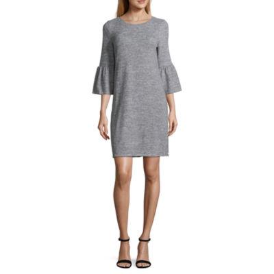 a.n.a Bell Sleeve Sweater Dress