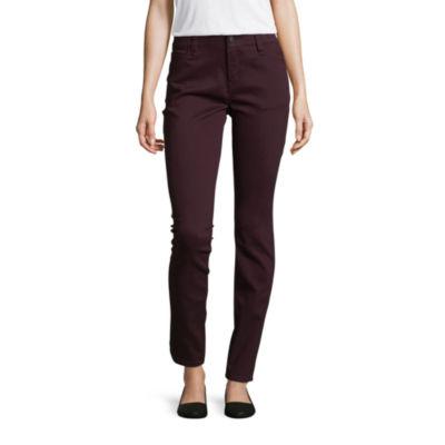 Liz Claiborne Flex Fit 5 Pocket Skinny-Talls