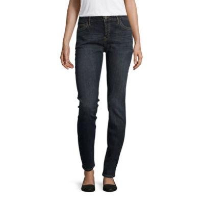 Liz Claiborne Flex Fit 5 Pocket Skinny- Talls
