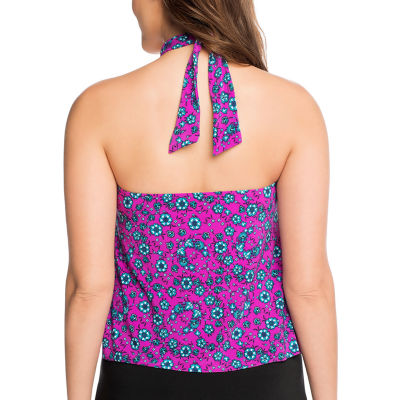 Vanishing Act By Magic Brands Tankini Swimsuit Top