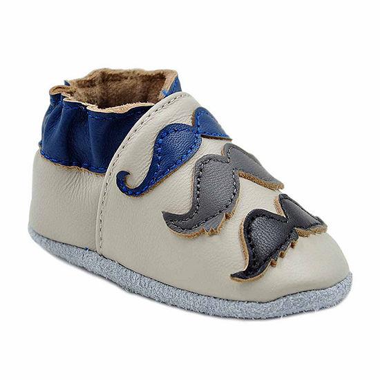 Momo Baby Boys Crib Bootie Crib Shoes
