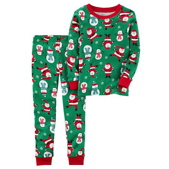 Carters 2 Pc Pajama Set Toddler Boys