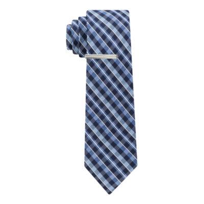 JF J.Ferrar J Ferrar Winter Formal Gingham Tie