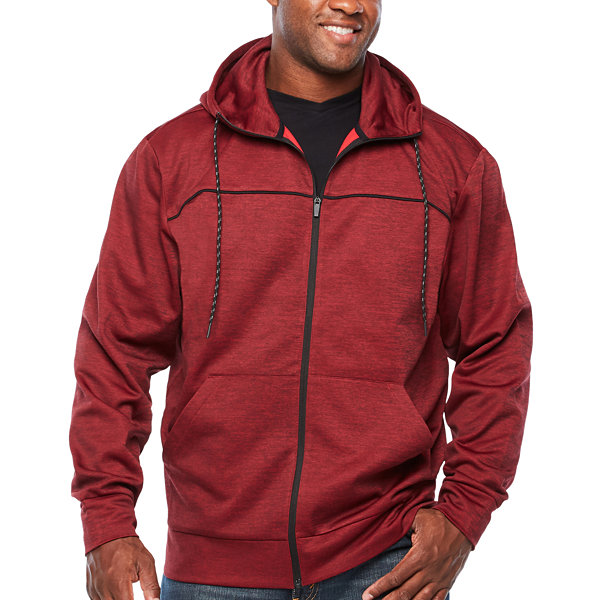 The Foundry Big & Tall Supply Co. Long Sleeve Fleece Hoodie-Big and Tall