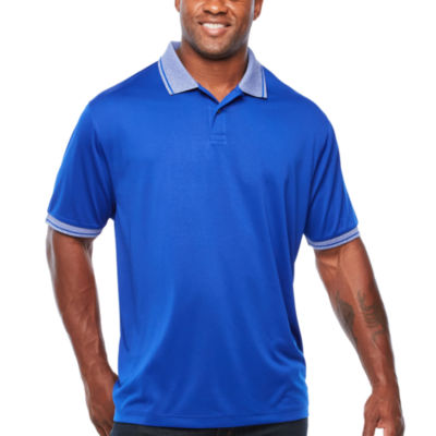 Claiborne Short Sleeve Knit Polo Shirt Big and Tall