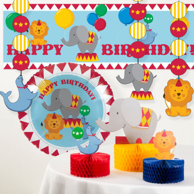 Creative Converting Circus Party Decorations Kit