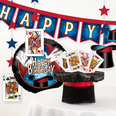 Creative Converting Magic Birthday Party Decorations Kit