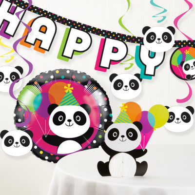 Creative Converting Panda Party Banner