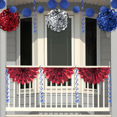 Creative Converting Patriotic Foil Decorations Kit