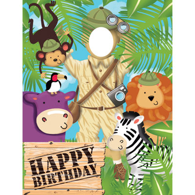 Creative Converting Safari Adventure Photo Op Banner