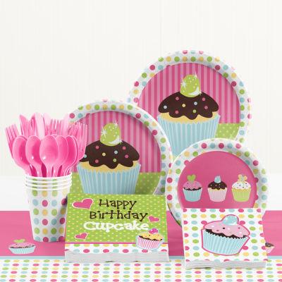 Creative Converting Sweet Treats Birthday Party Supplies Kit