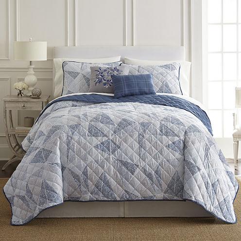 Pacific Coast Textiles Dillon 5-pc. Quilt Set