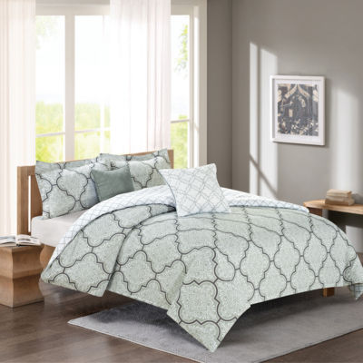 Journee Home Rhet Printed 5 pc Comforter Set
