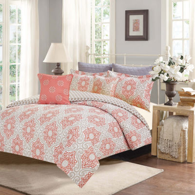 Journee Home Siobhan Printed 7 pc Comforter Set