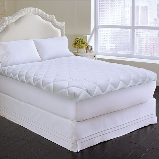 Smooth Top Probiotic Quilted Mattress Pad