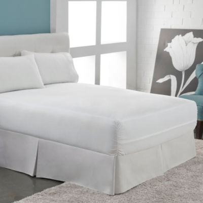 Six-Sided Bed Bug Blocker Dust Mite Barrier Hypoallergenic Mattress Encasement
