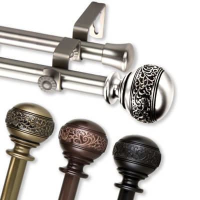 Rod Desyne Naomi Double Curtain Rod