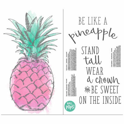 Brewster Wall Be Like A Pineapple Wall Quote Wall Decal