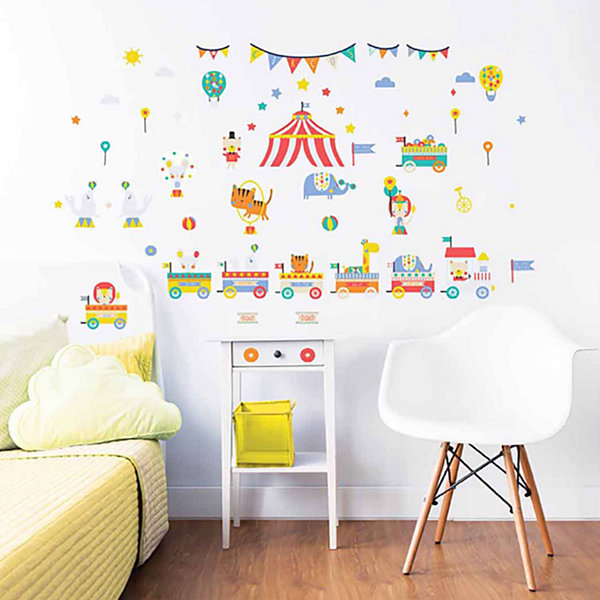 Brewster Wall Circus Wall Stickers Wall Decal