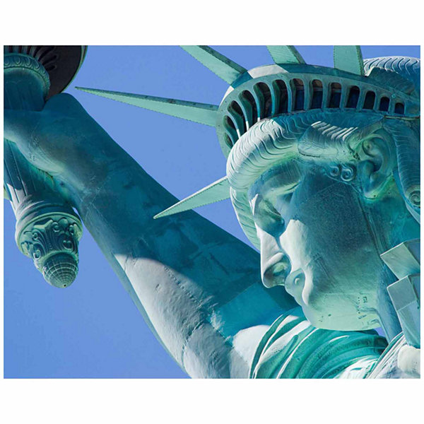 Brewster Wall Statue Of Liberty Wall Mural 6-pc. Wall Murals